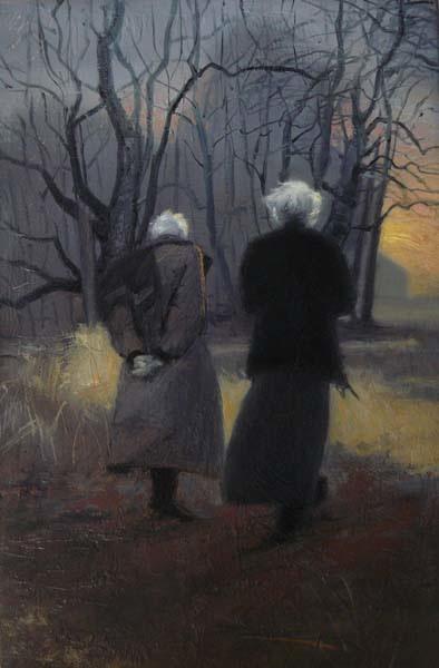 Odd Nerdrum and Andrew Wyeth